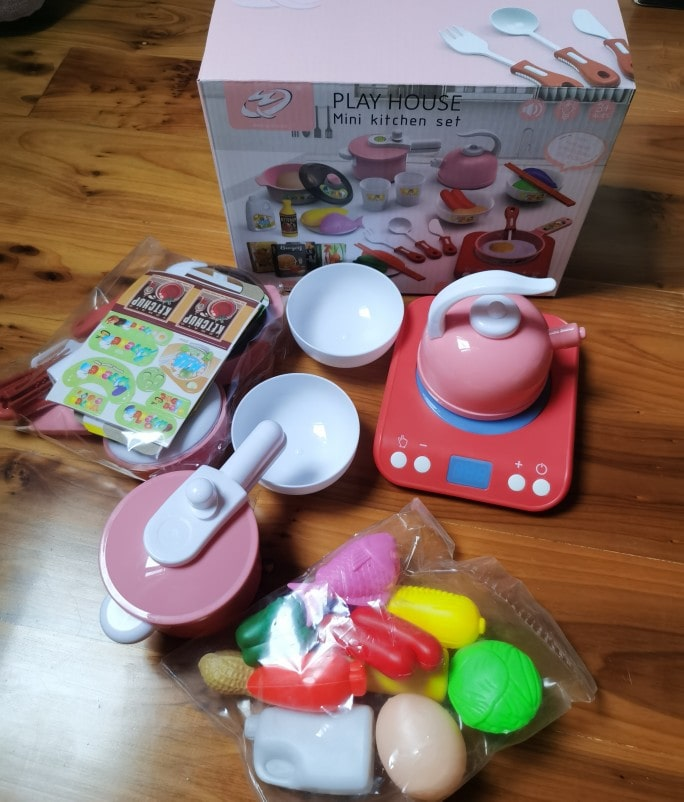 Induction Mini Kitchen Set - Real Show
