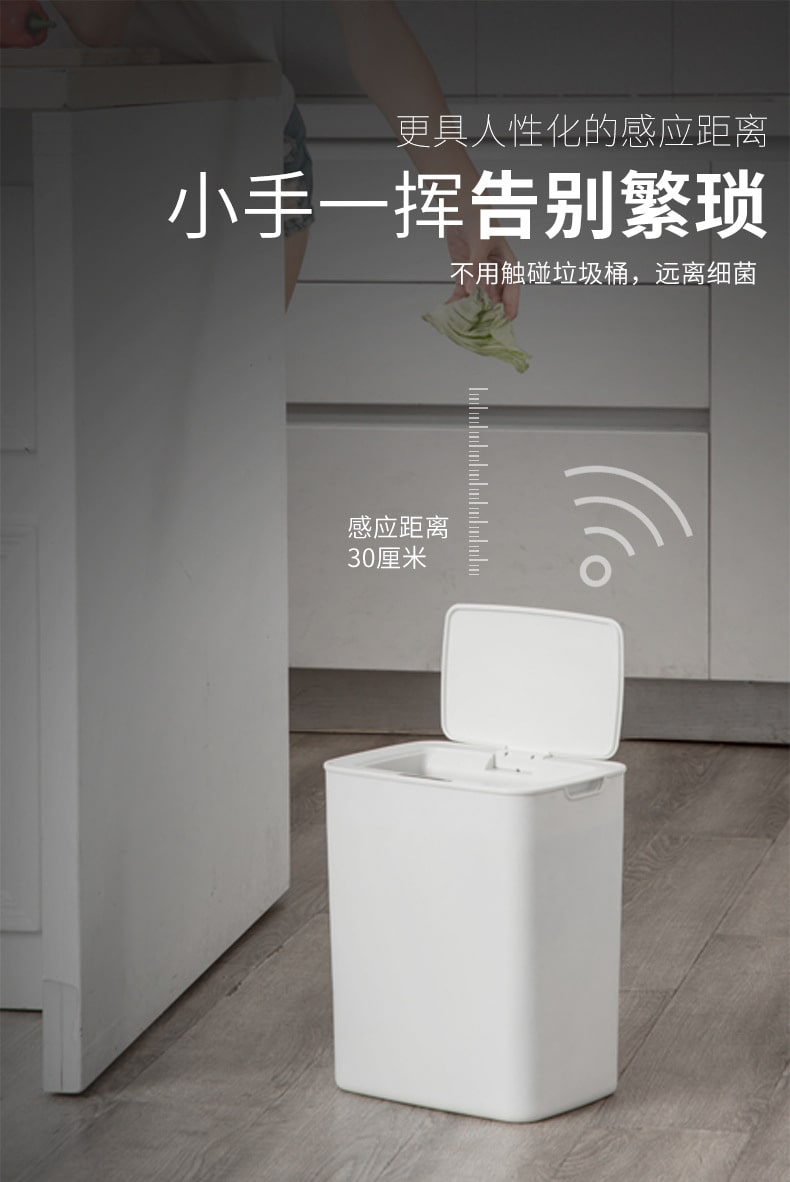 Smart Home Automatic Bin - Features