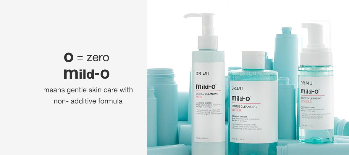Mild-O Gentle Cleansing Milk - benefits