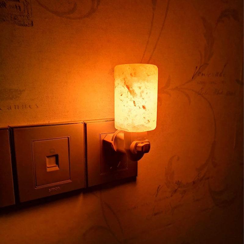 Salt Night Light Lamp - Display