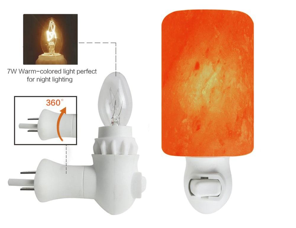Salt Night Light Lamp - Details