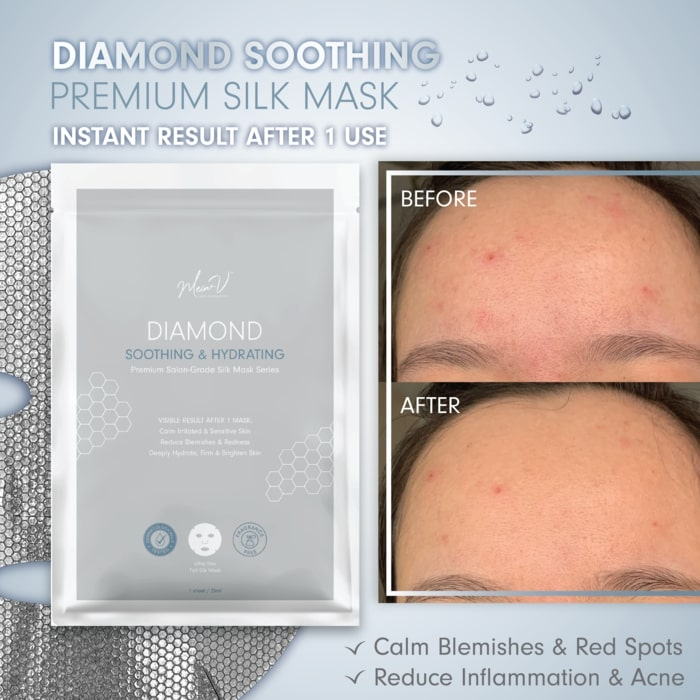 Premium Salon-Grade Silk Mask - Result