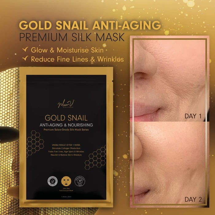 Gold Snail Anti-Aging Mask - Intro