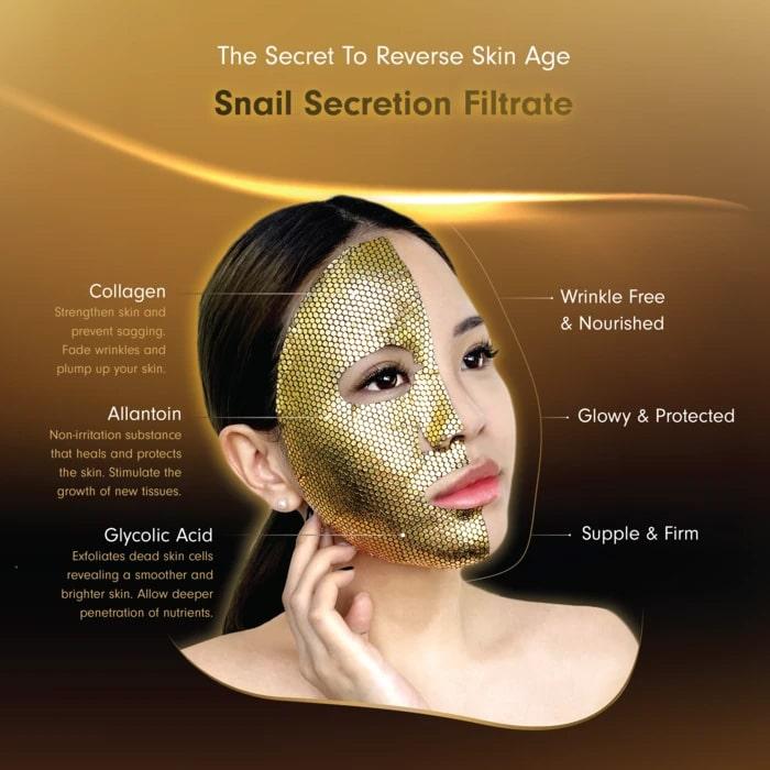 Gold Snail Anti-Aging Mask - Benefits