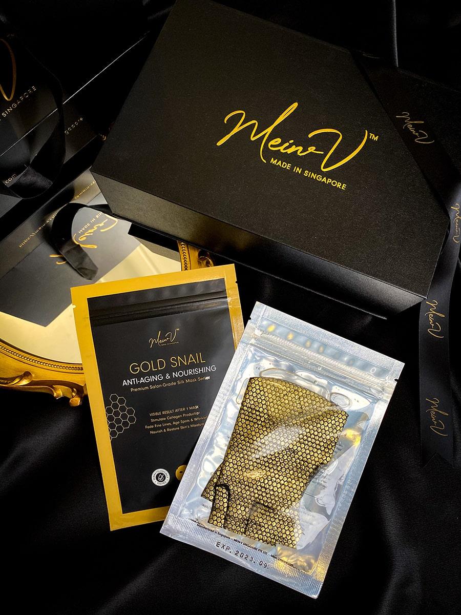 Premium Salon-Grade Silk Mask - Packaging