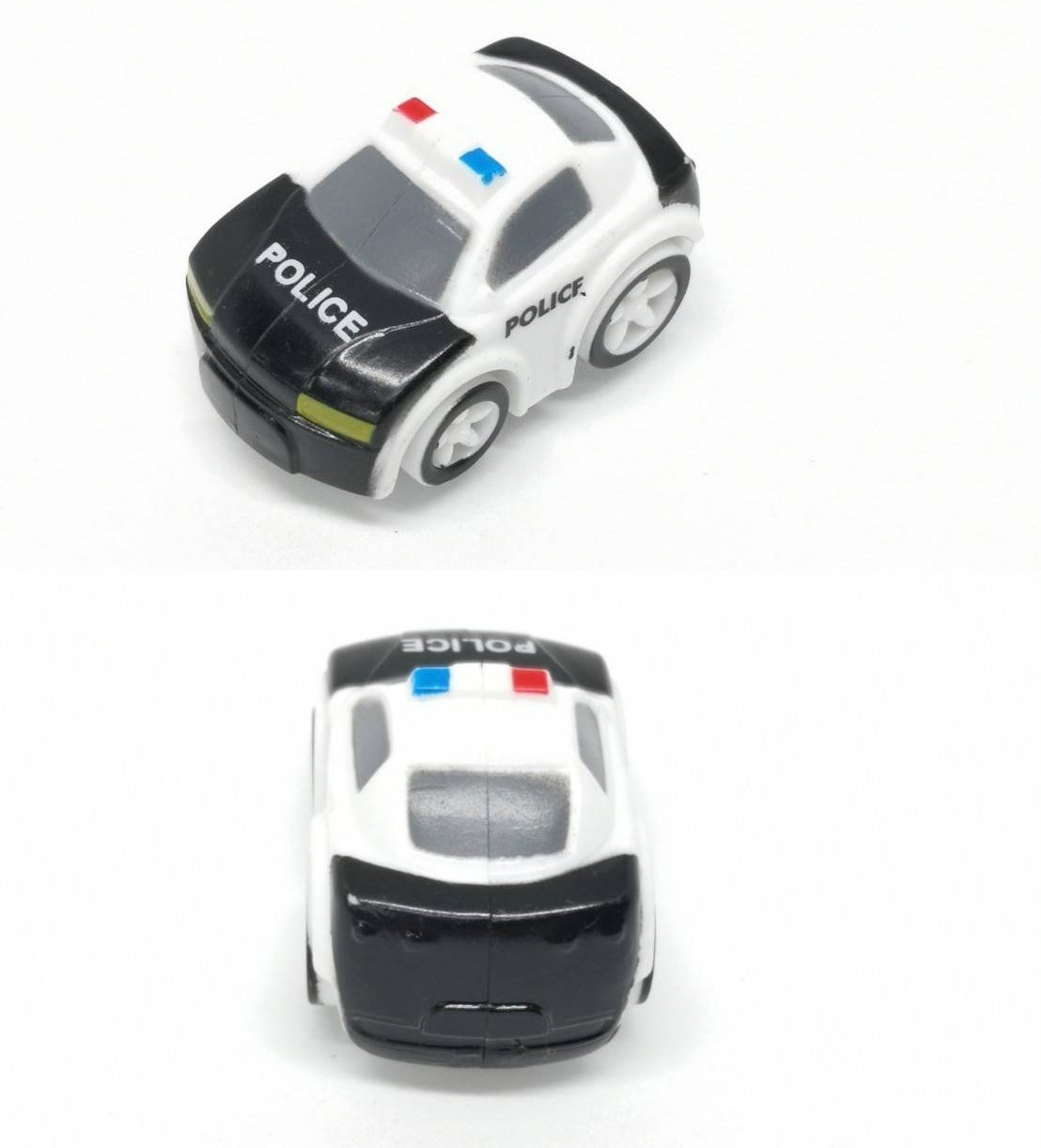 Justice Police Mini Car - Angle