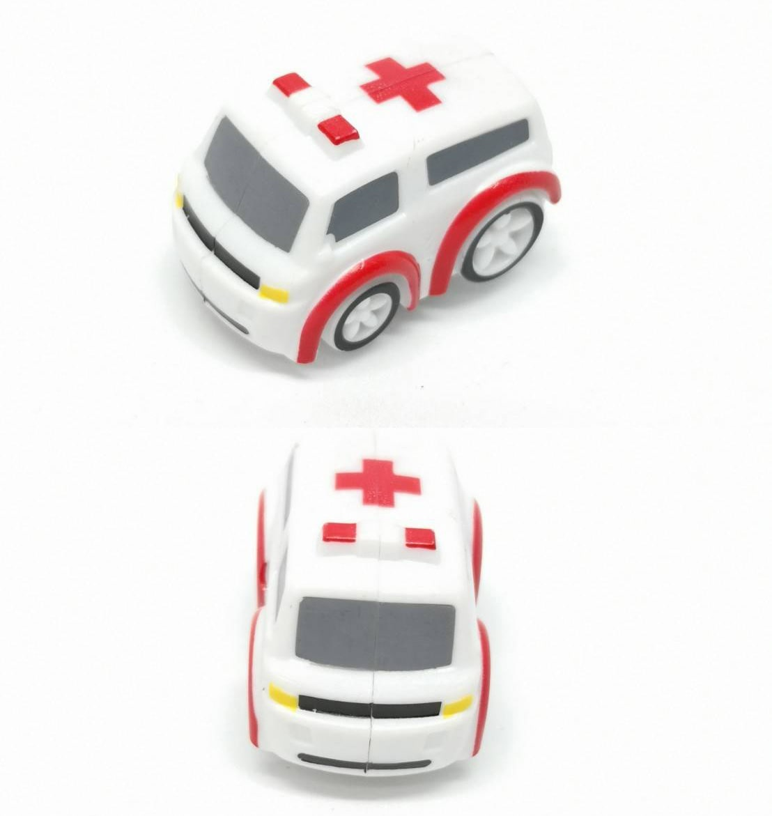 Save Life Ambulance Car - Angle