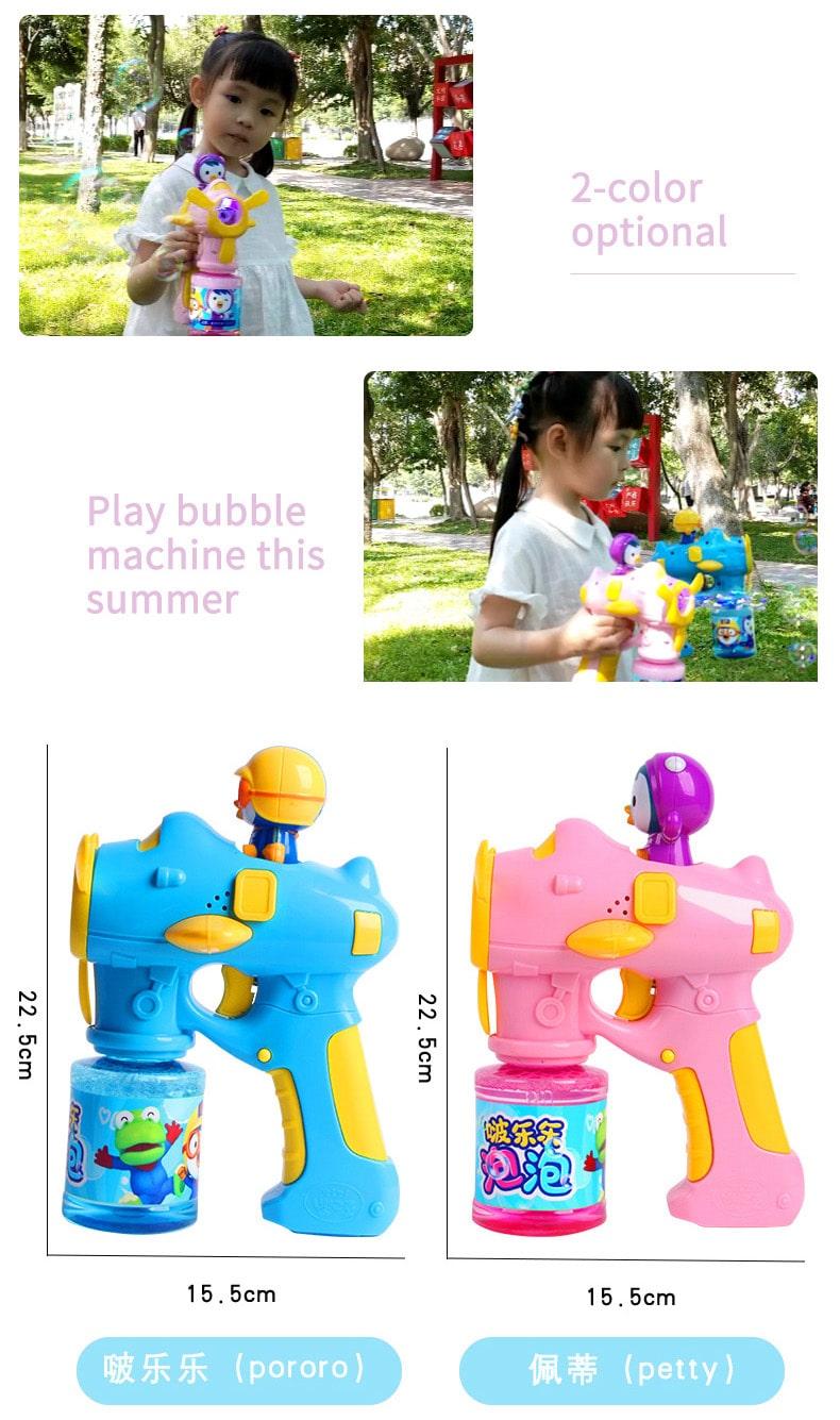 Pororo Bubble Gun - Sizes