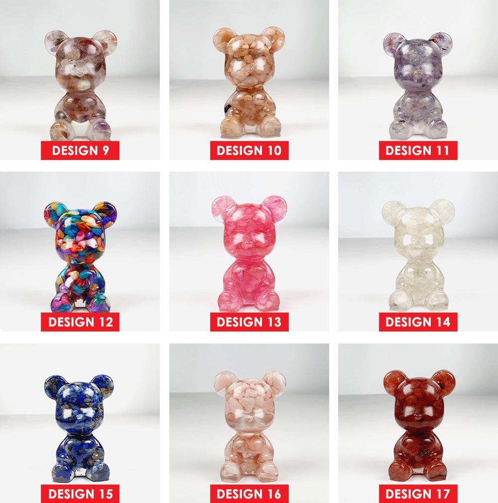 Bear Crystal Decoration - Design