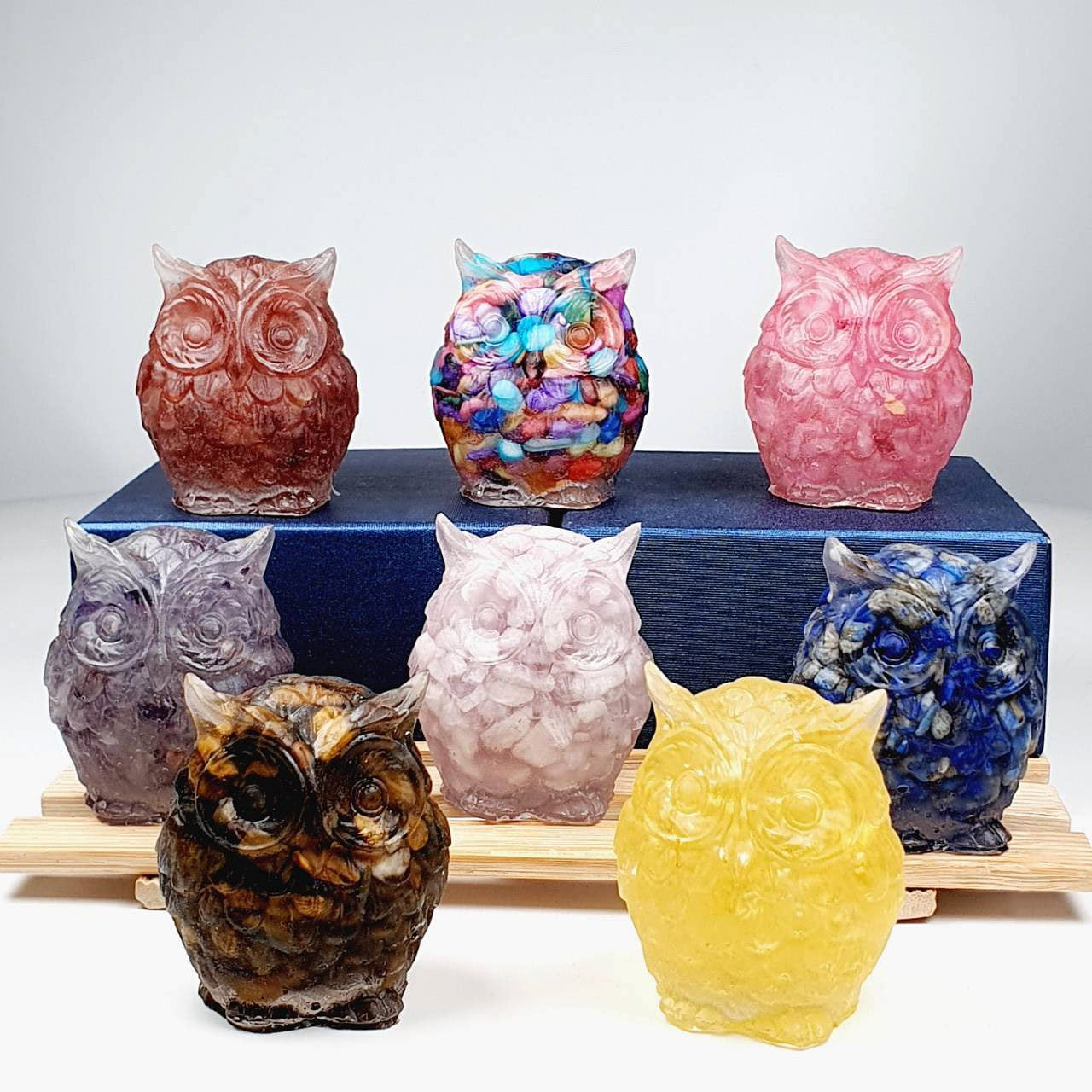 Owl Crystal Decoration - All Types
