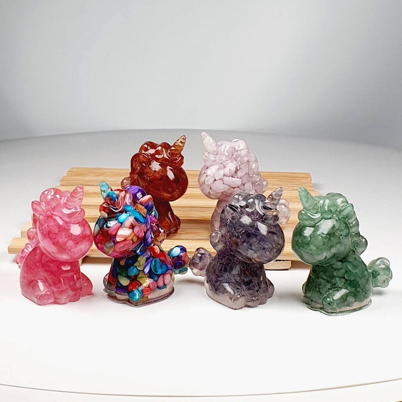 Unicorn Crystal Decoration - All Types