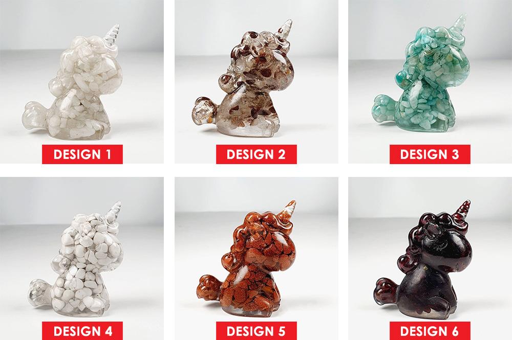 Unicorn Crystal Decoration - Design