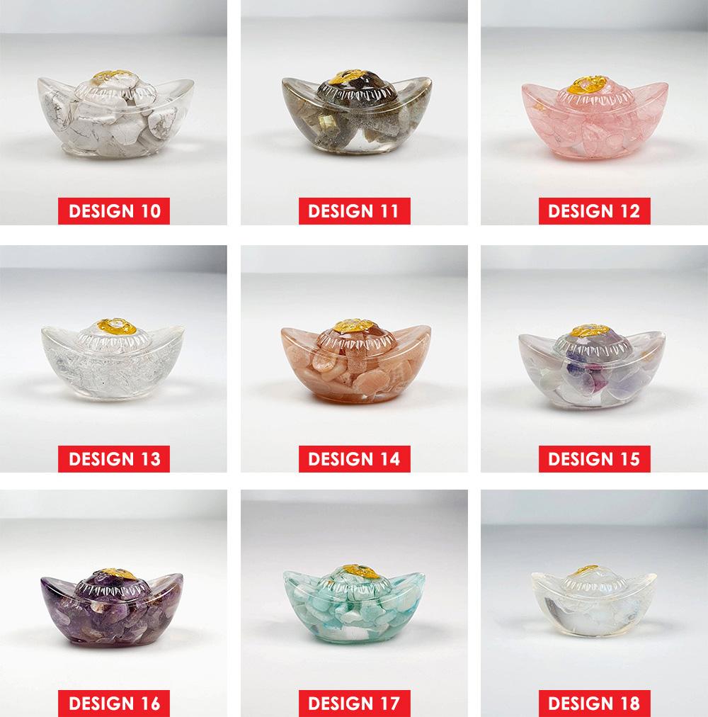 Yuan Bao Crystal Decoration - Design